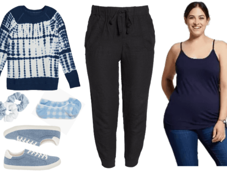 Three Comfortable and Stylish Plus-Size Quarantine Outfits | Outfit #2