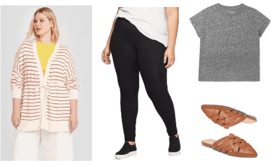 Three Comfortable and Stylish Plus-Size Quarantine Outfits | Outfit #1