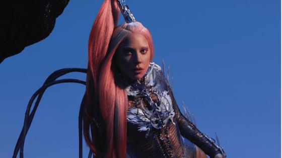Screenshot of Lady Gaga