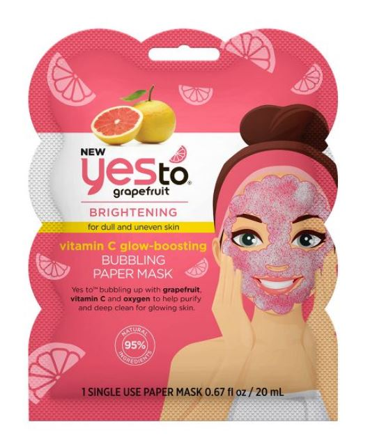 Mothers day gifts 2020: Grapefruit face mask.