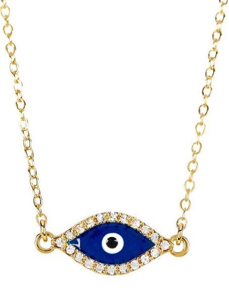 Eye necklace.