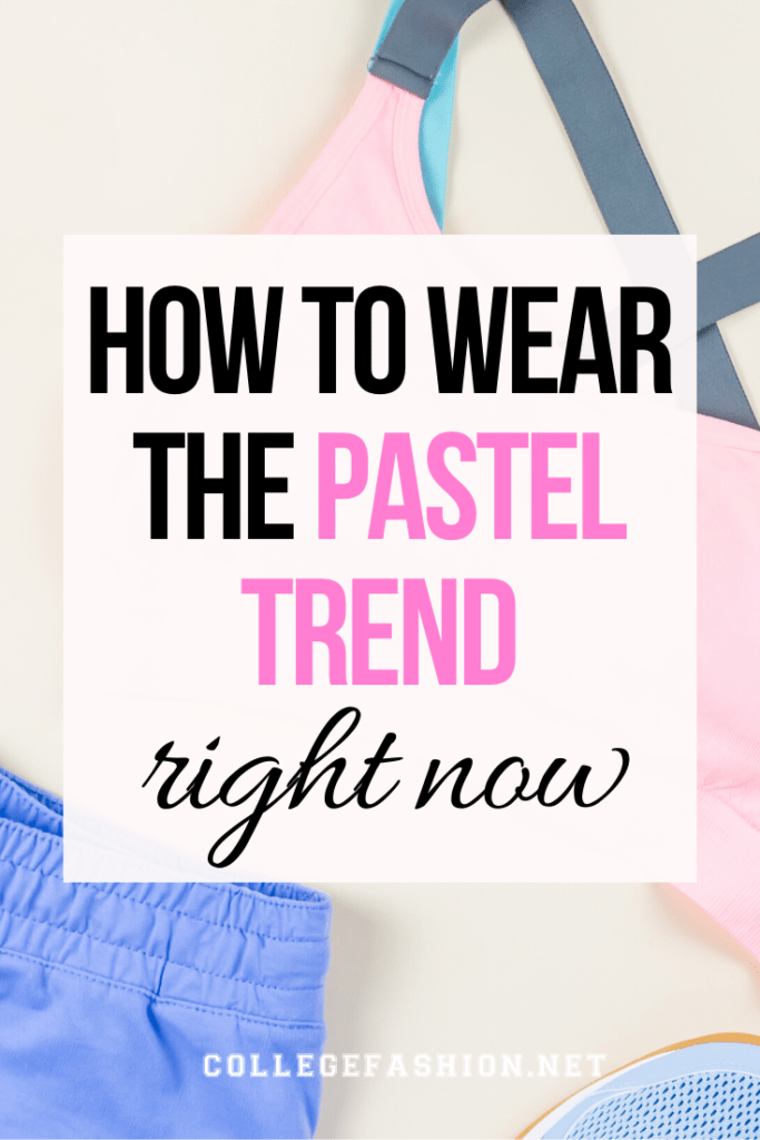 Pastel fashion: How to wear the pastel trend right now - guide with outfit ideas and styling tips
