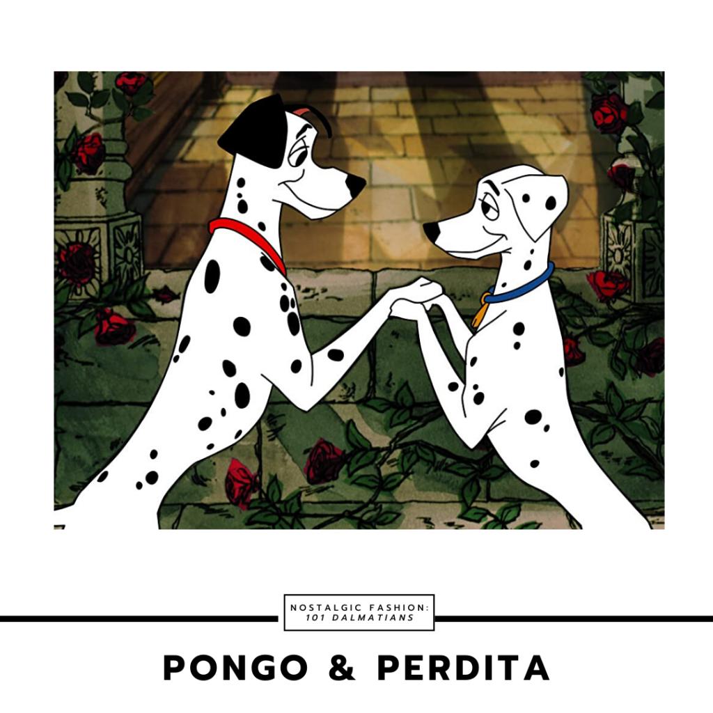 Pongo and Perdita from Disney's 101 dalmatians