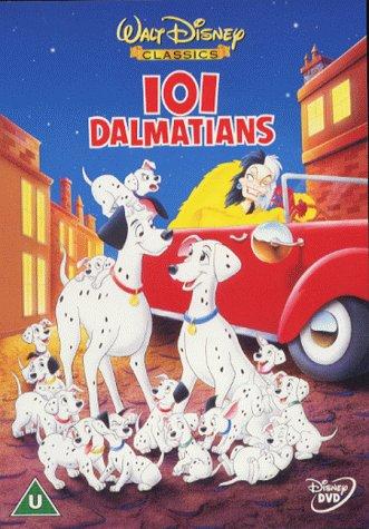 101 dalmatians movie DVD cover