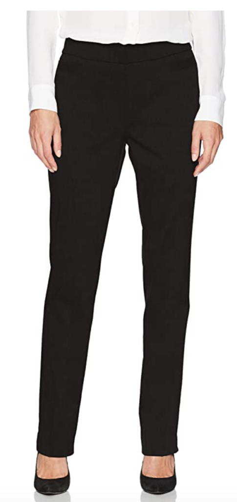 Black dress pants from Amazon