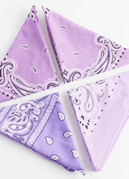 Product photo of Urban Outfitters bandanas