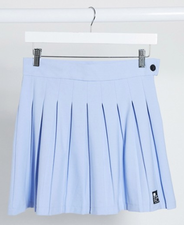 Product photo of a pleated skirt from ASOS