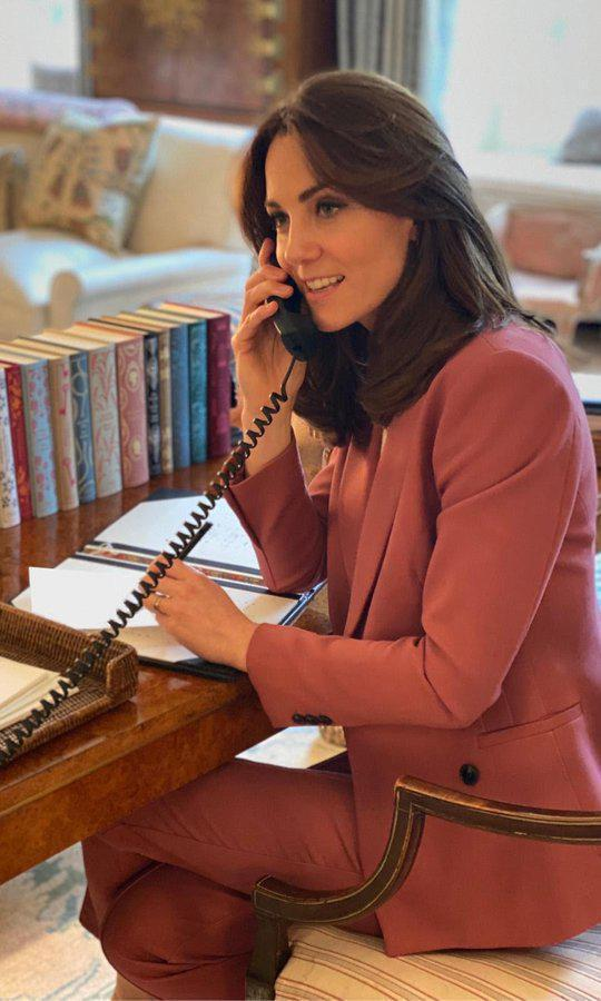 Kate Middleton Working From Home