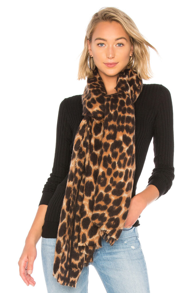 Leopard scarf from Revolve