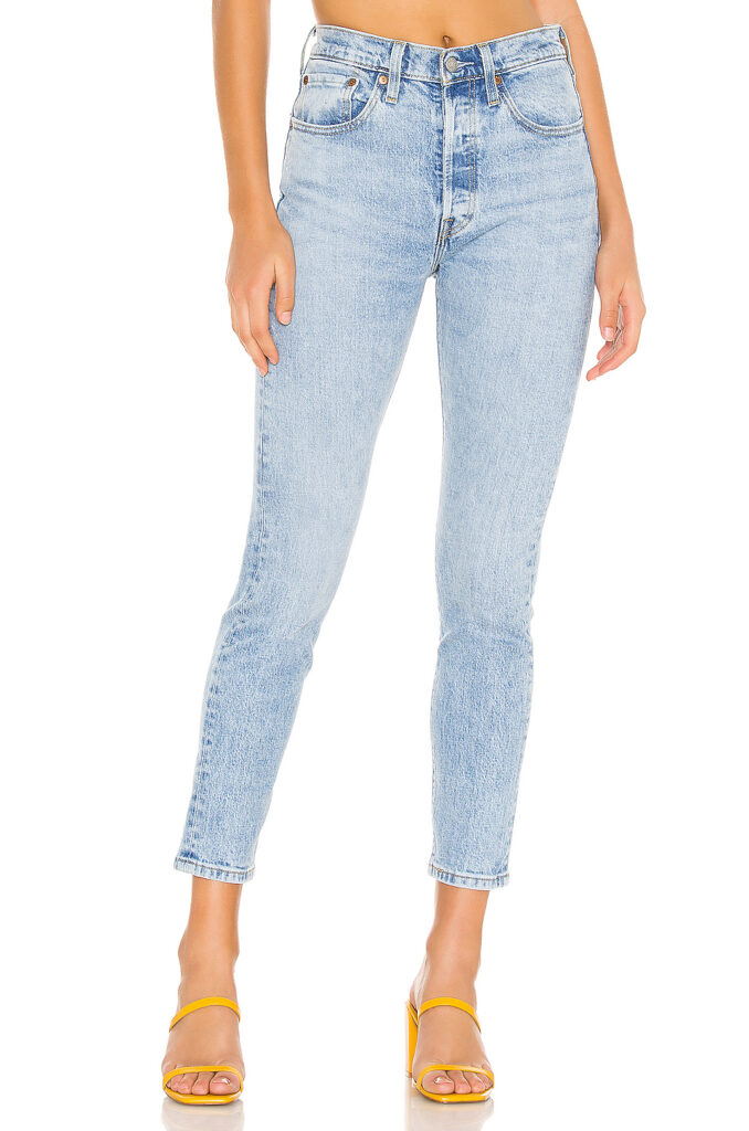 Levis 501 jeans from Revolve - Best jeans for a classic style wardrobe