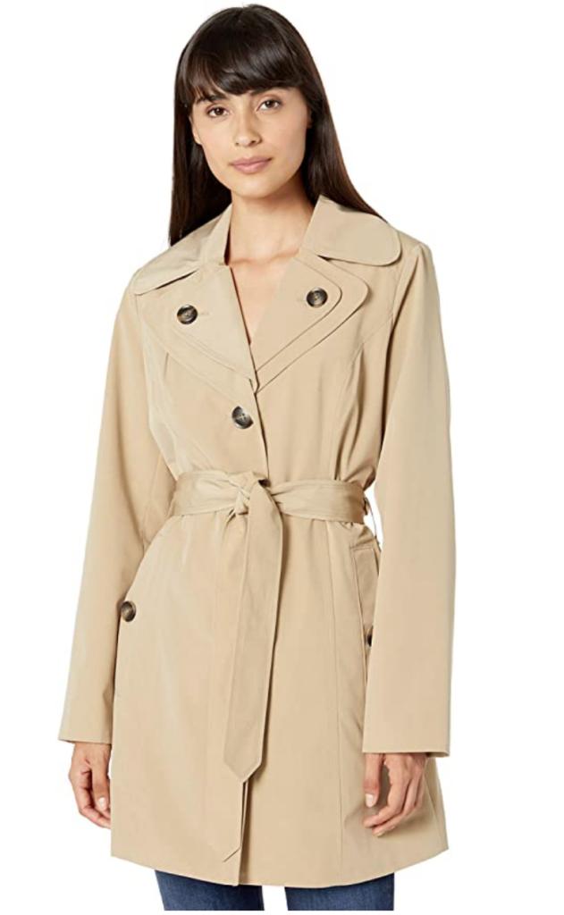 London Fog classic trench coat