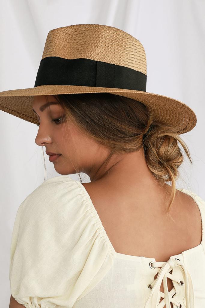 Lulus woven fedora for summer