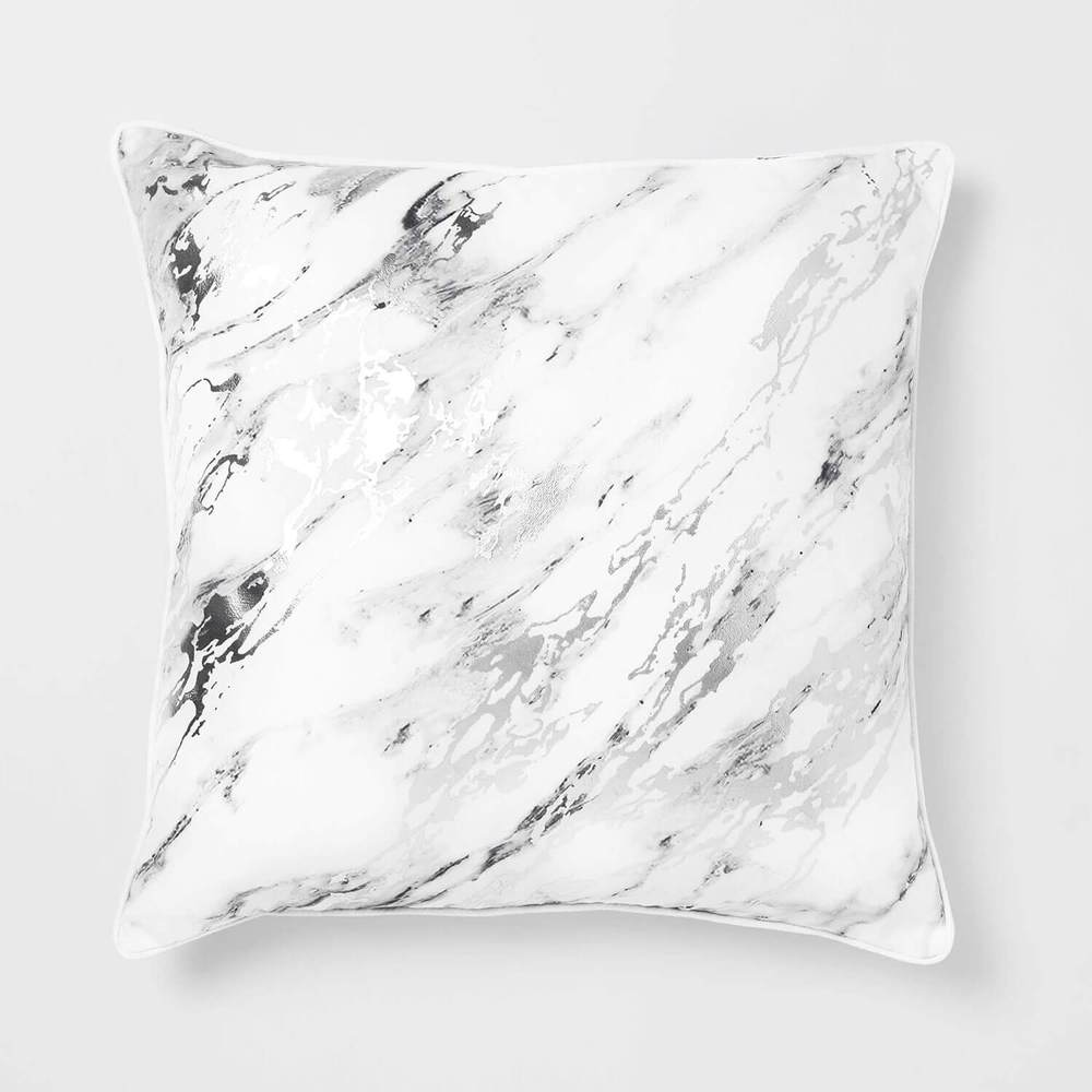 Dormify white marble pillow