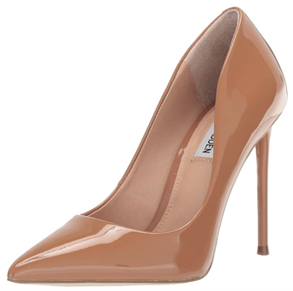 Steve madden camel pointed toe pumps Inspired by Meghan Markle's street style