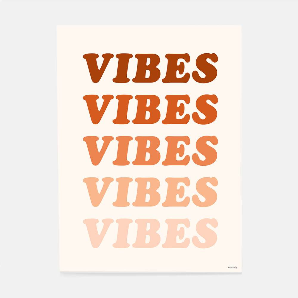 Vibes print from Dormify