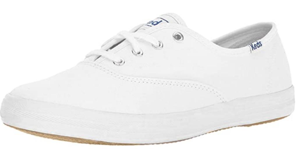 All white keds