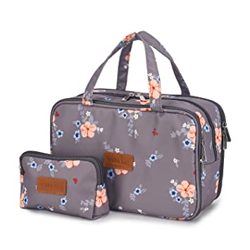 Travel makeup bag from Amazon