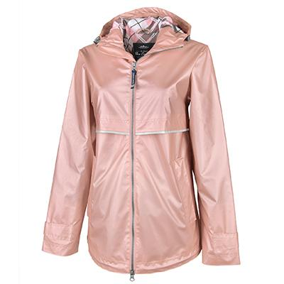 Custom sorority rain jacket from Something Greek
