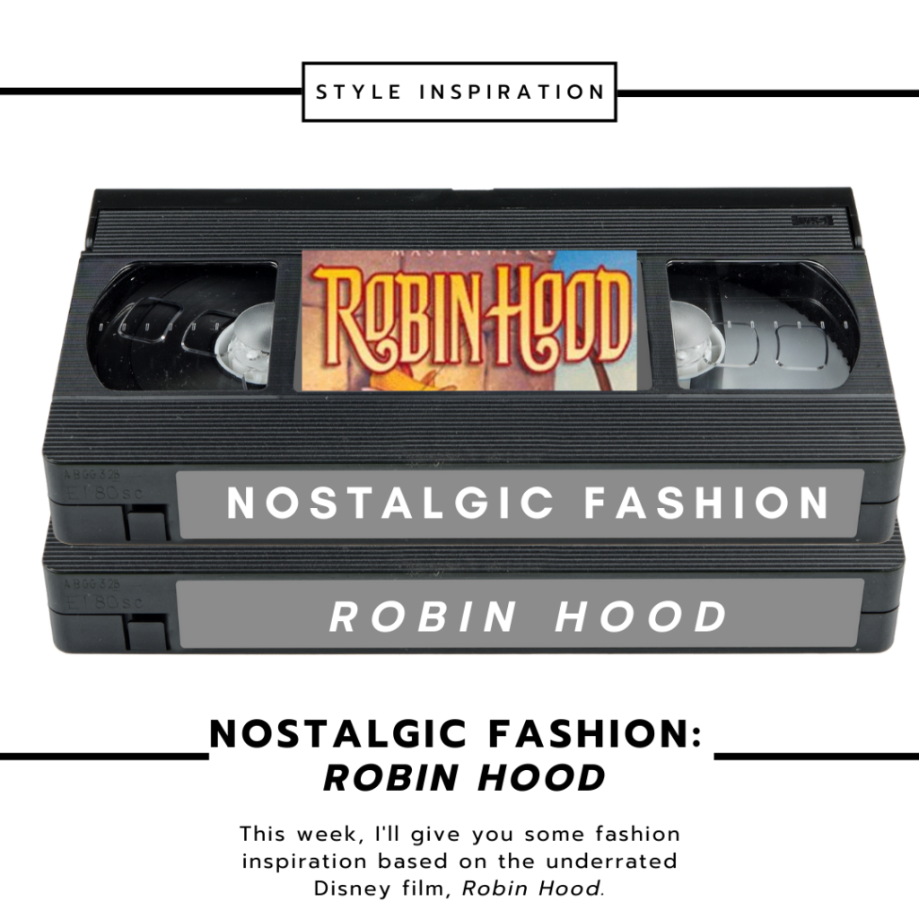 Nostalgic Fashion Robin Hood Head Image