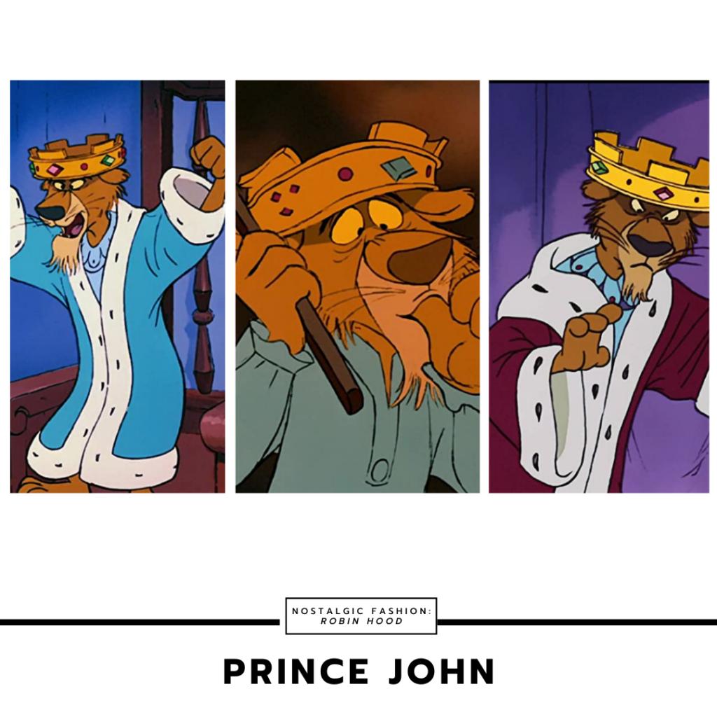 Prince John 1973 Character