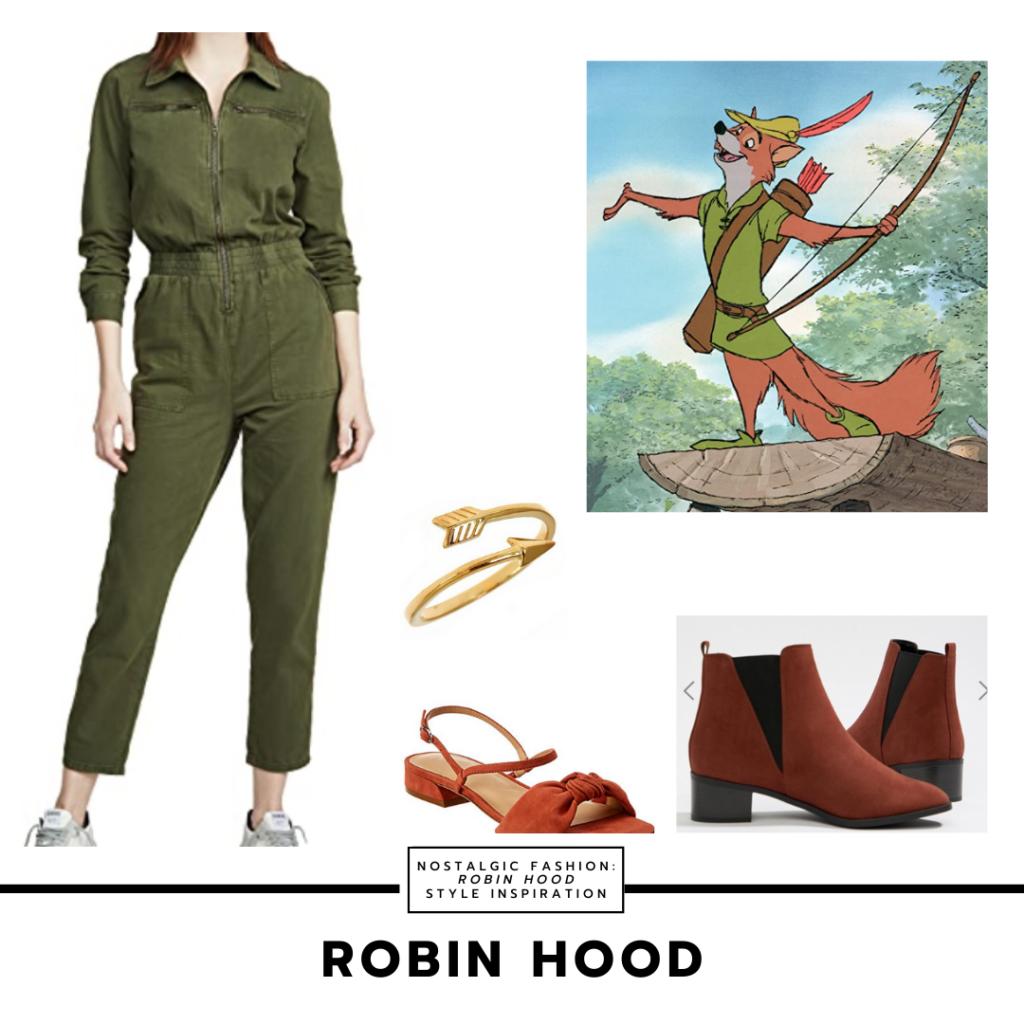 Robin Hood 1973 Style Inspiration Look