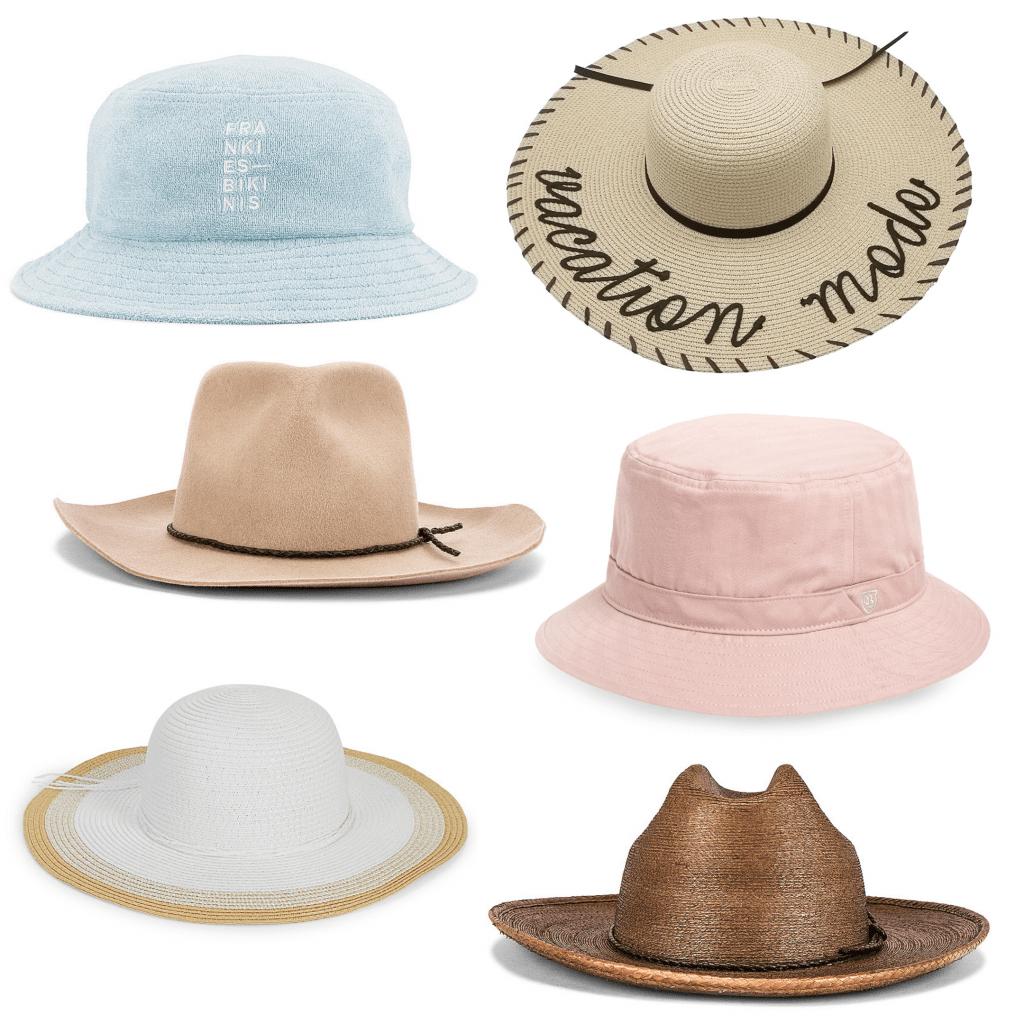 Beach accessories - cute sun hats for 2020