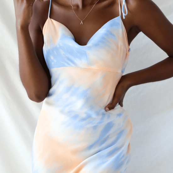 Lulus tie dye dress