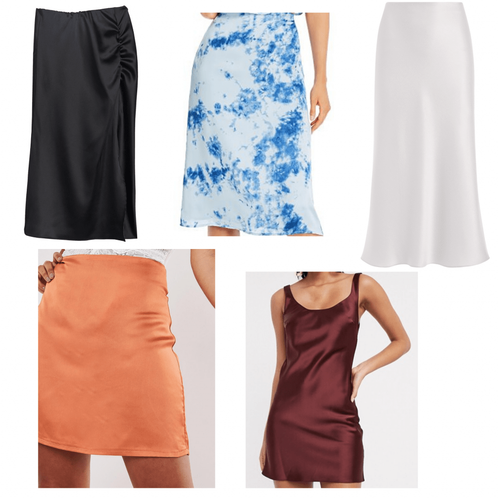 Silk and satin pieces to pair with swimwear