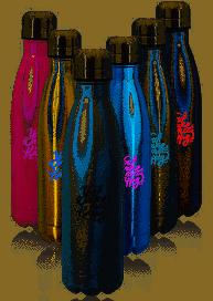 Custom water bottles from Discount Mugs