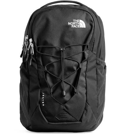 Black North Face backpack for everyday looks.