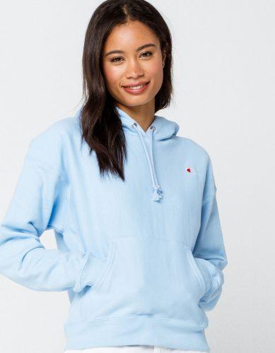 Tillys light blue sweatshirt