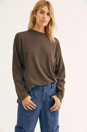 Brown sweatshirt from Free People