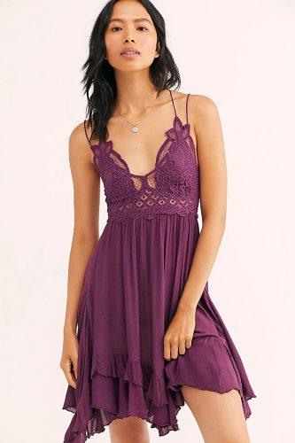 Purple dress from Free People