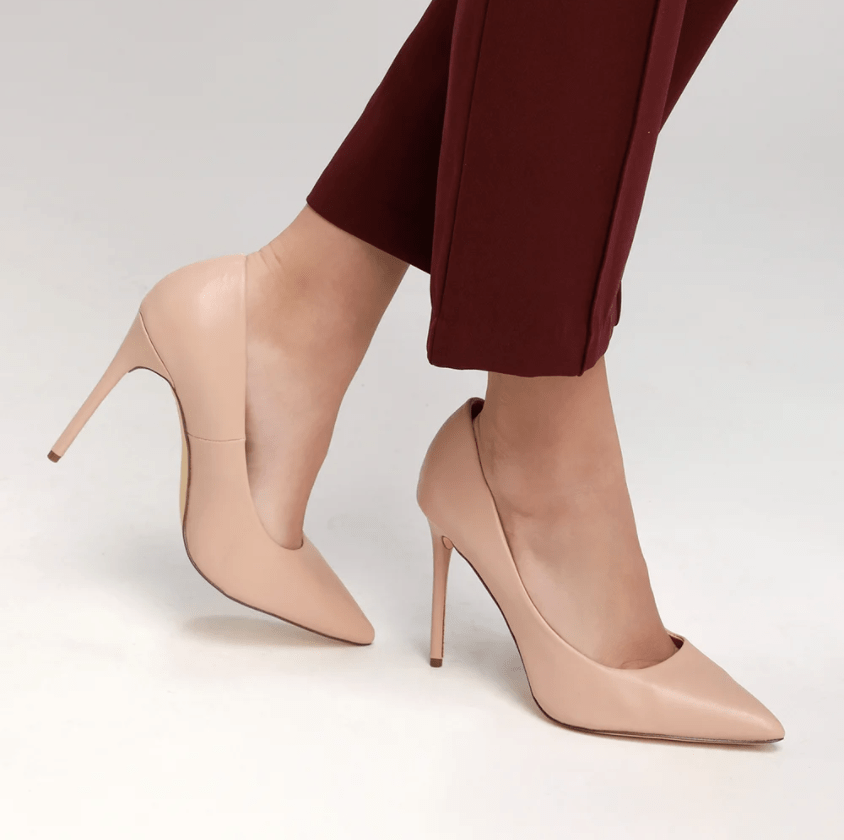 Basic nude pumps from Lulu's, shoes for different occasions