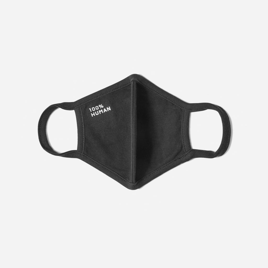 Fashion masks - plain black mask from everlane