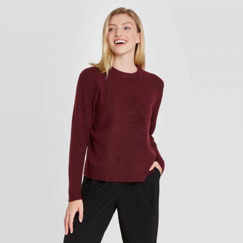 Target burgundy top