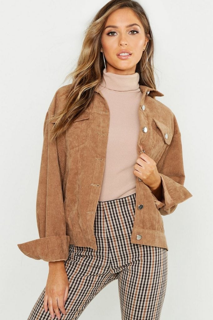 Fall jackets 2020 guide: Button-front corduroy jacket