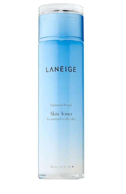 morning and night skincare routine product: Laneige sephora toner