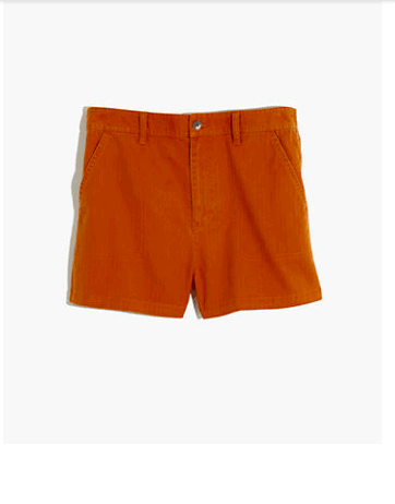 Earth tone fashion guide: Madewell camp shorts
