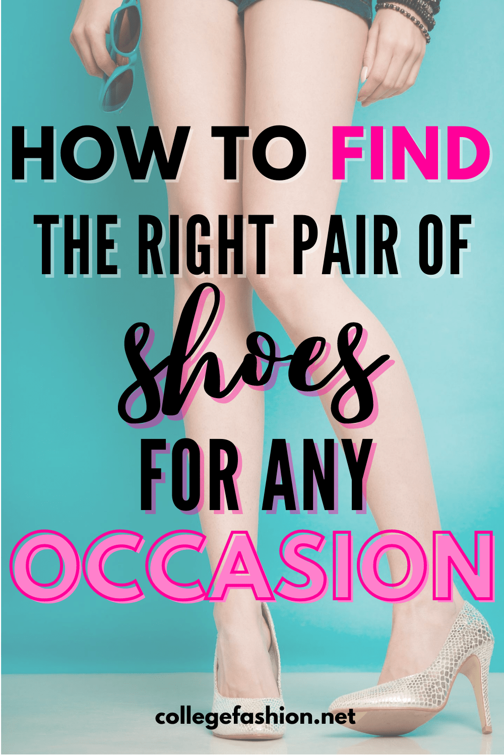 Shoes for Different Occasions header image