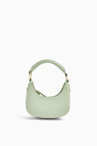 Topshop sage green purse