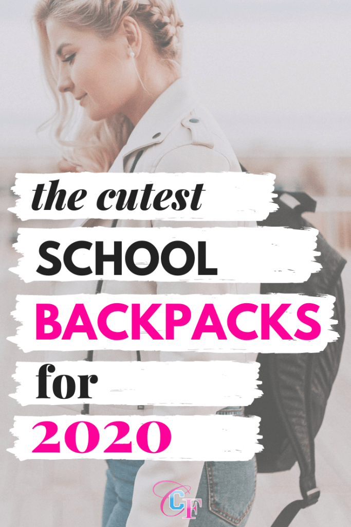 The cutest school backpacks for 2020
