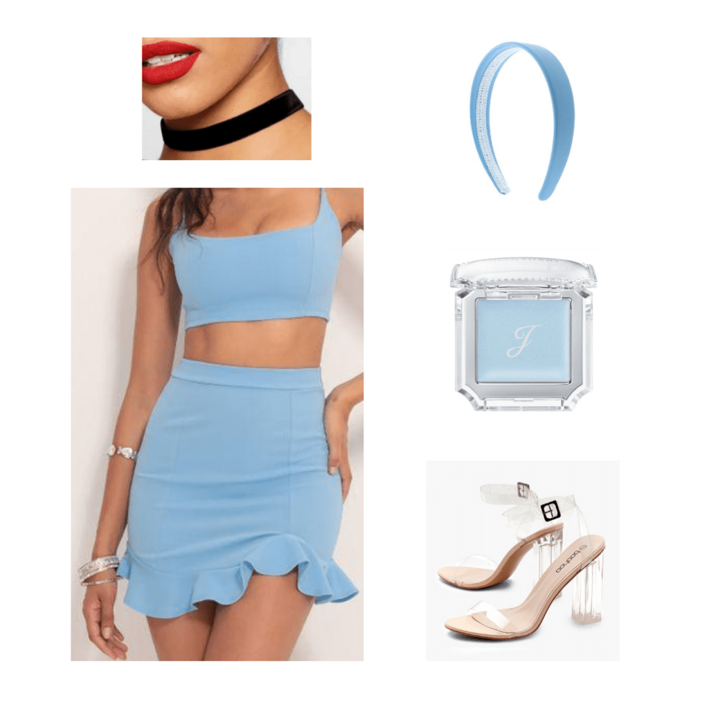 Disney princess costume idea with accessories
