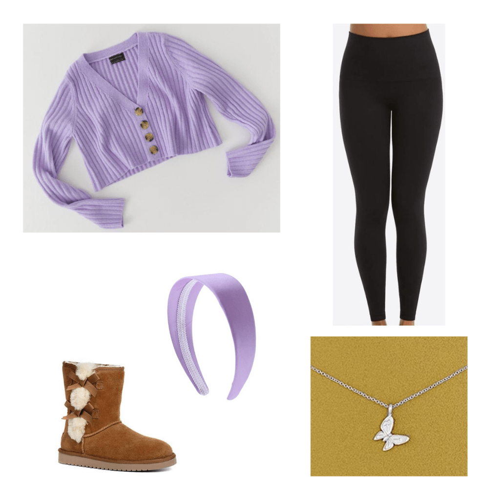 Sweater outfit with accessories