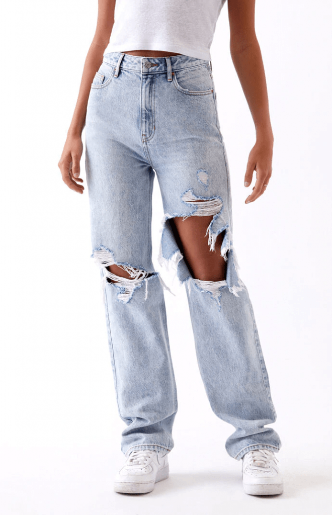 90s boyfriend jeans from Pacsun