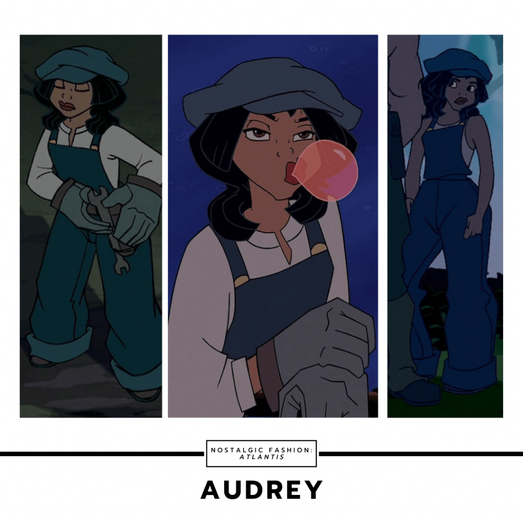 Audrey from Atlantis the Lost Empire