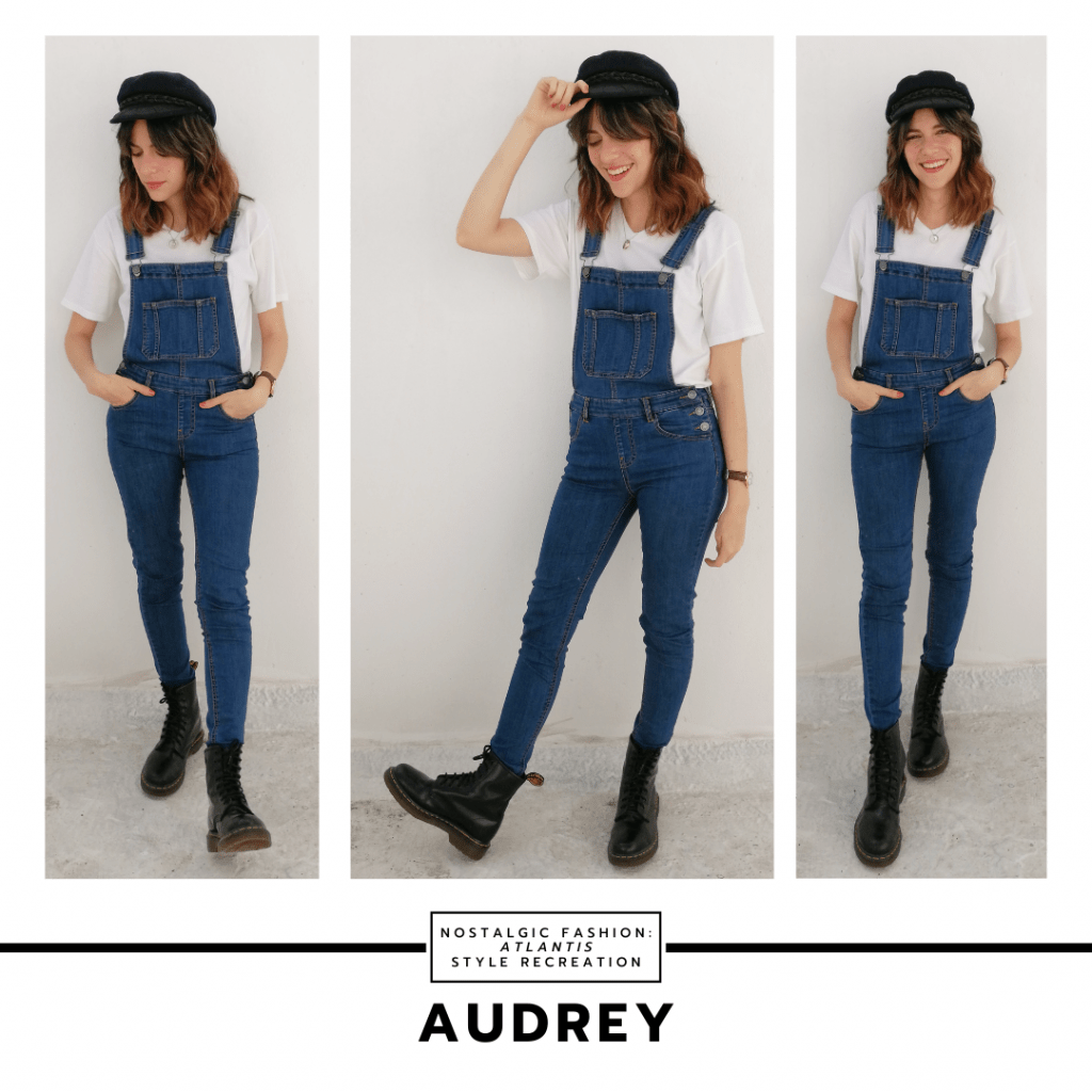 Audrey fashion from Atlantis the Lost Empire