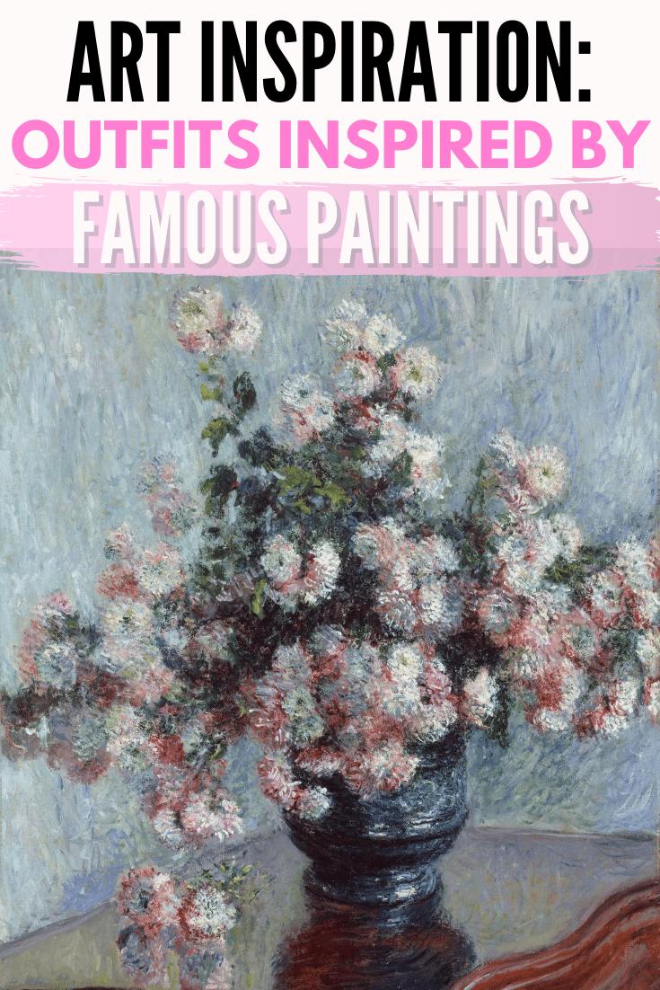 art inspiration header image monet flowers