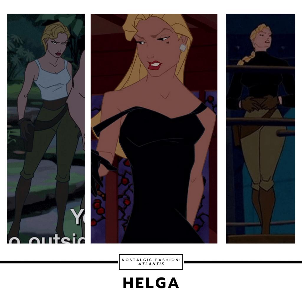 Helga from Atlantis the Lost Empire