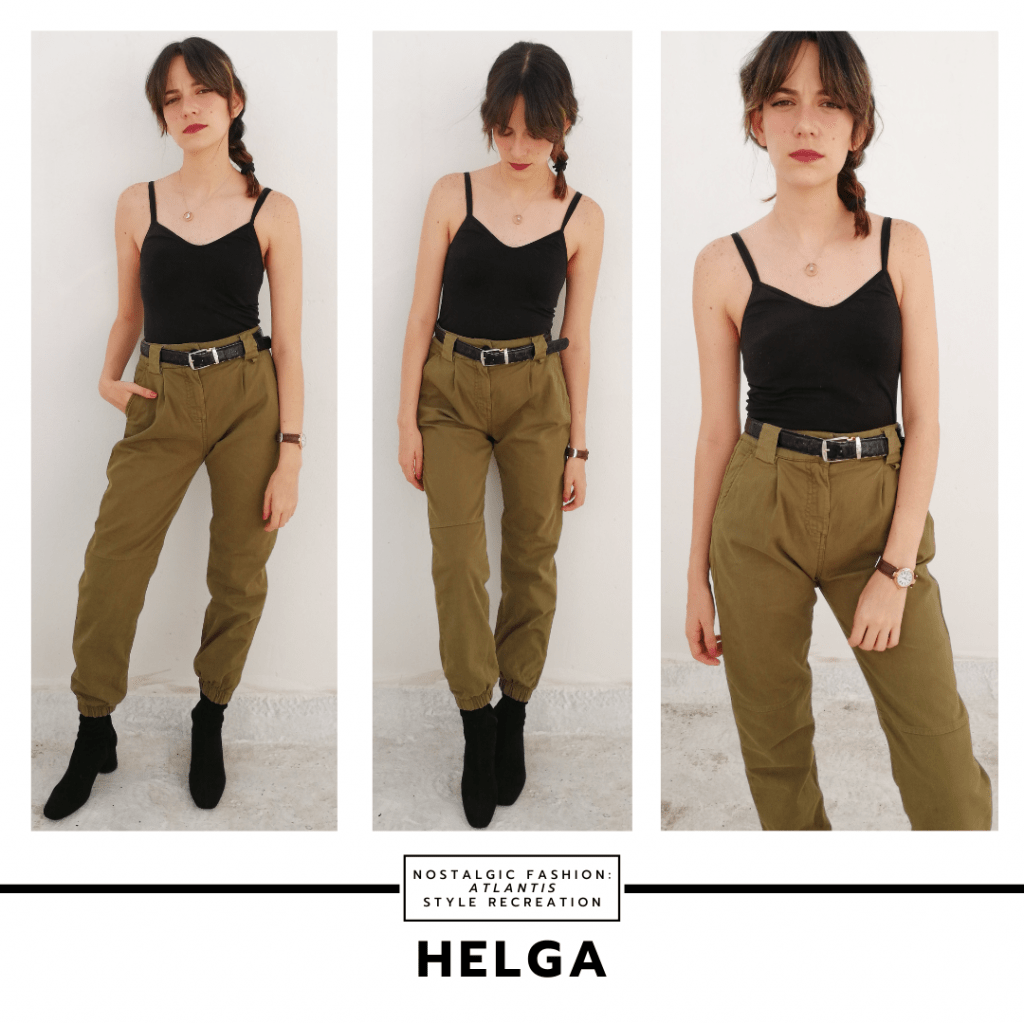 Outfit inspired by Helga from Atlantis the Lost Empire
